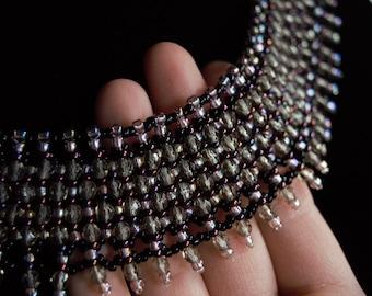 SALE* Plum Mascarade Necklace