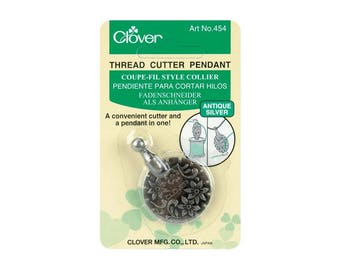 Clover Thread Cutter Pendant #454