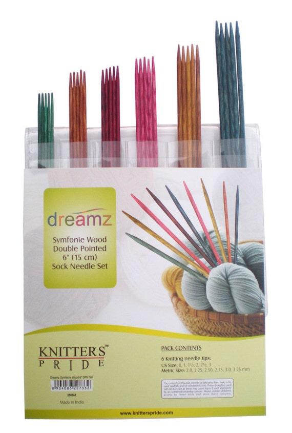 Knitter/'s Pride Dreamz Symfonie Interchangeable Starter Needle Set 3 Pairs #200602
