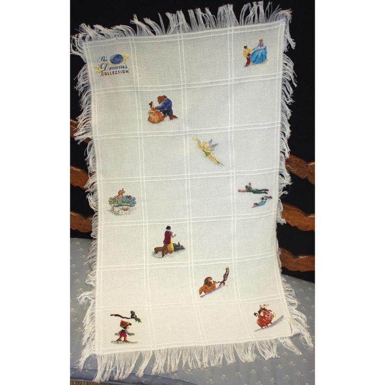 Thomas Kinkade Disney Dreams Collection Afghan Counted Cross Stitch Kit #52682