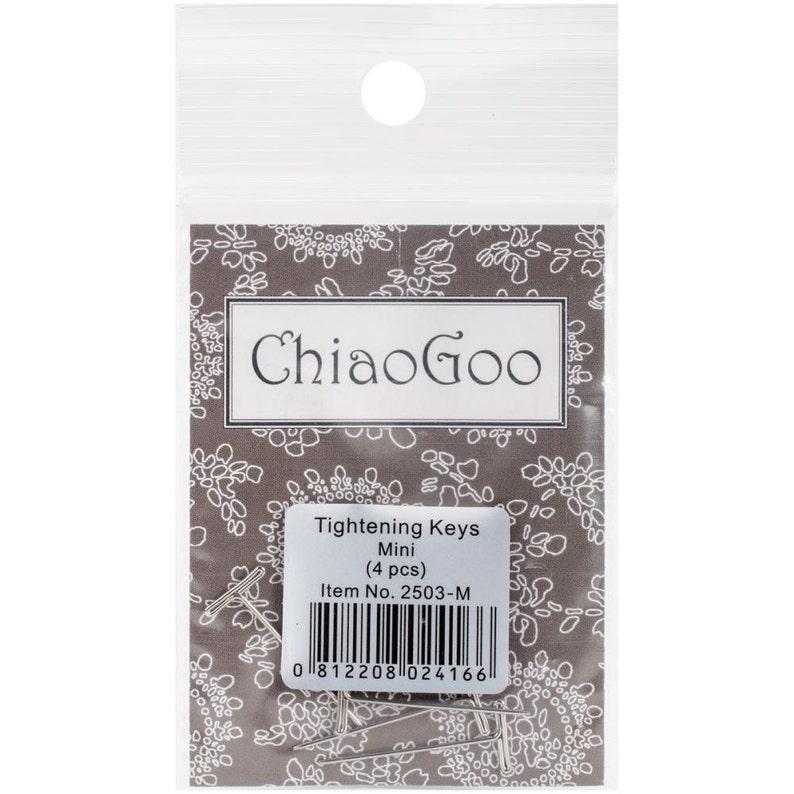 4Pkg ChiaoGoo Tighting Keys 2503-M Mini