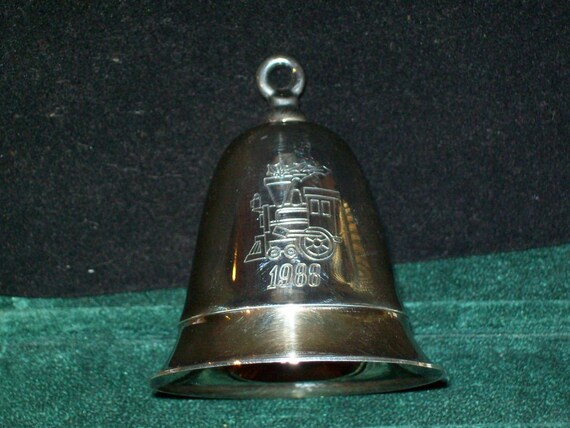 I Ll Be Home For Christmas 1988.Kirk Stieff Christmas Bell Music Box 1988 I Ll Be Home For Christmas