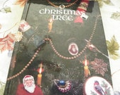 O Christmas Tree - Cross Stitch Pattern Book - Over 40 Designs - Santa, Tree, Ornaments, Cats, Dogs, Pillows, Angel, Tree