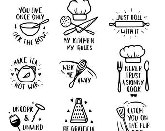 Kitchen Rules Etsy