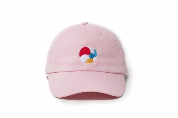 Beach Hat Beach Dad Hat Beach Ball Baseball Cap Embroidered  78bca3876adc