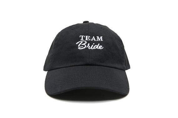 e0e60cfc48d Team Bride Hat Team Bride Baseball Cap Bachelorette Hat