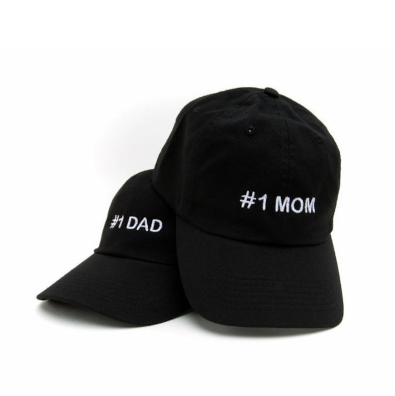 b884c02231b27 MOM DAD Mom Dad Hats 1 Mom Hat 1 Dad Hat Mom Dad