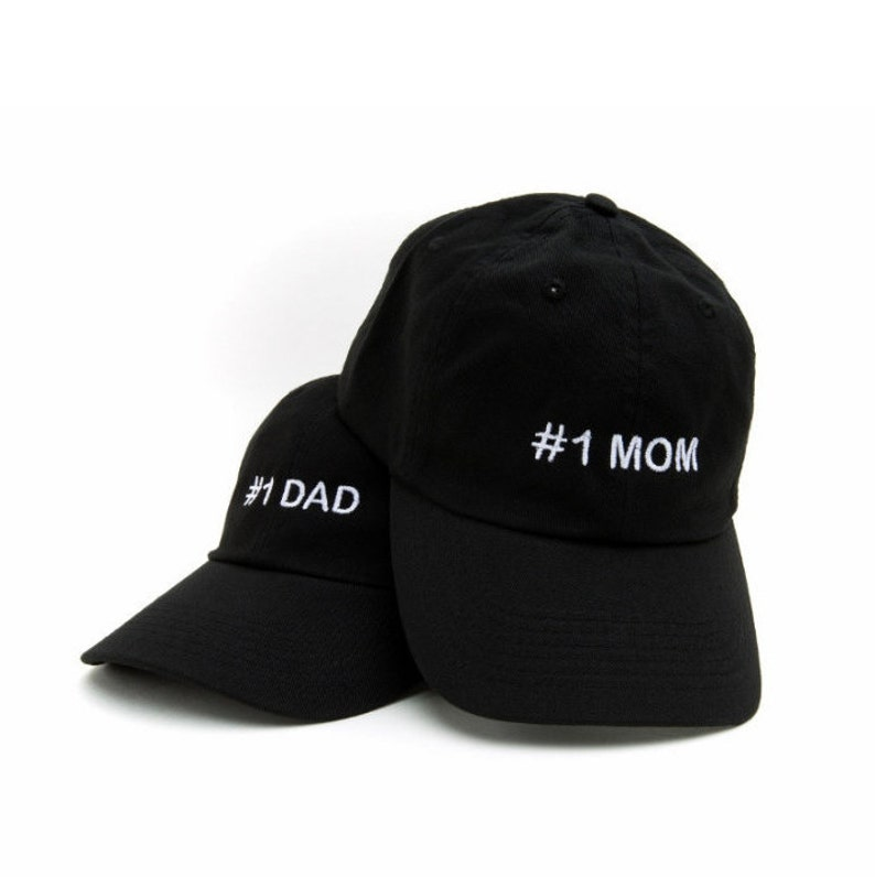 6dd7f6b29cd MOM DAD Mom Dad Hats 1 Mom Hat 1 Dad Hat Mom Dad