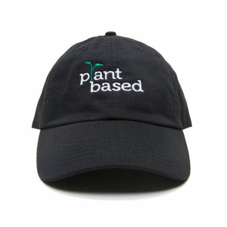 cc9d97d6 PLANT BASED Hat Plant Based Baseball Cap Vegan | Etsy
