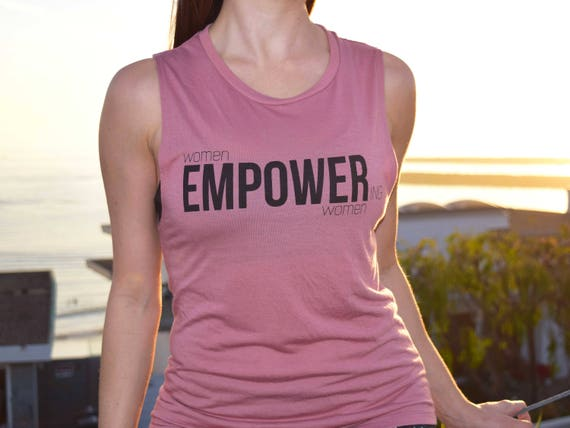 2150d2a36 Empower Muscle Tank Top Pure Barre Women Empowering Women | Etsy