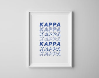Heavenly Print - Kappa Kappa Gamma
