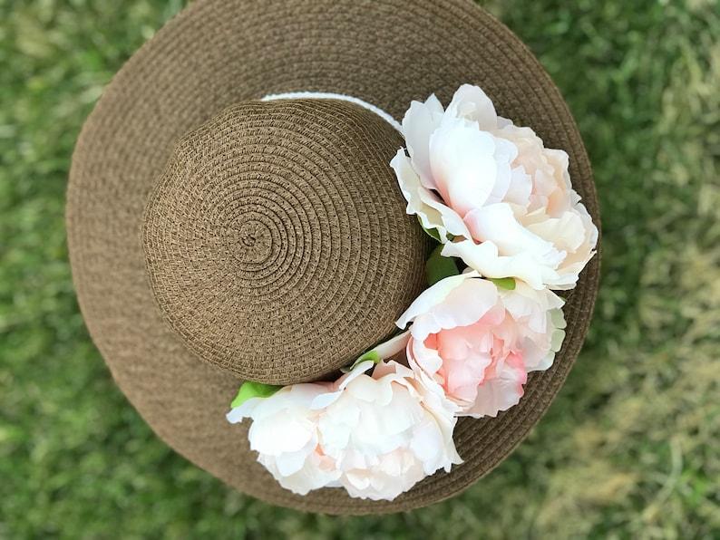 floral hats Tea party hats Kids Sun Hat