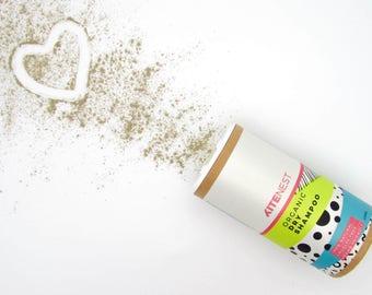 Organic Dry Shampoo - Natural, Talc free, cruelty free, no toxins, no GMO's, light or dark hair