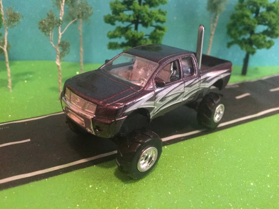 Lifted Nissan Titan >> Custom Hot Wheel Lifted Nissan Titan Rear Exhaust Pipe Mattel Licensed Product