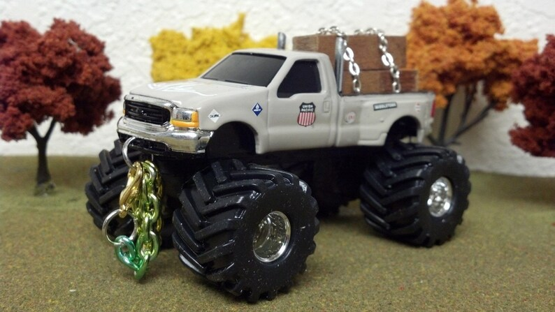 1 64 Custom Lifted Ford F350 Tricked Out And Sweet Farm Toy Etsy