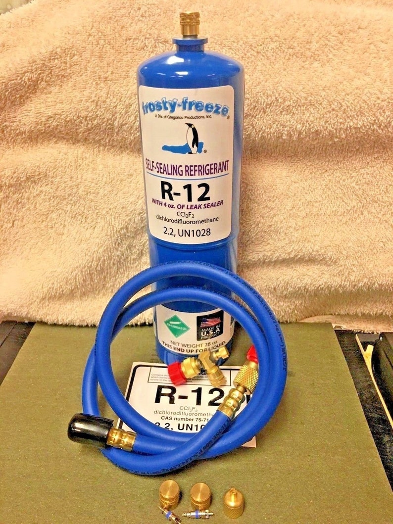 Free Shipping Pro-Seal XL4 Leak Stop Refrigerant 5 lb Can NEW R410a Hose