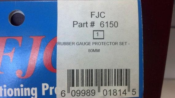 """Rubber Gauge Protectors Fits 3-1//8/"""" OR 80 MM Gauges RED /& BLUE F.J.C.# 6150"""
