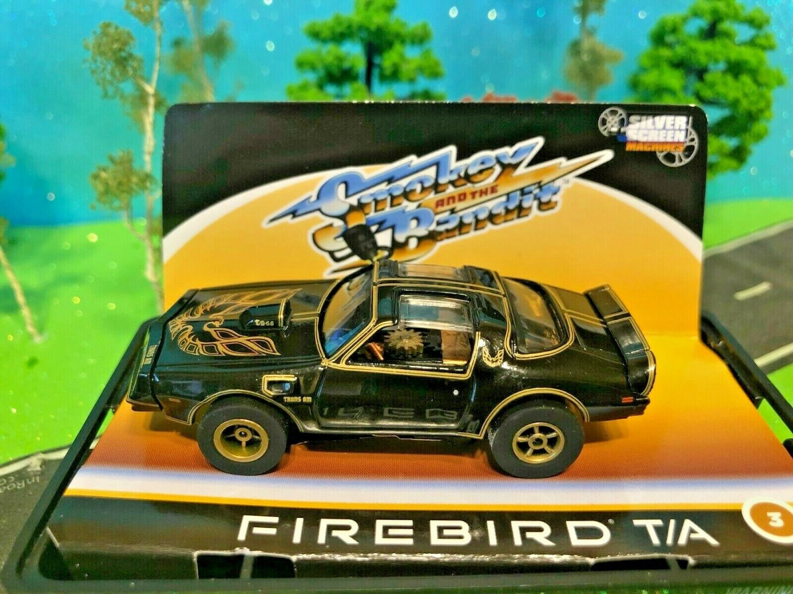 Smokey and the Bandit #2 Limited edition die-cast bandit/'s 1:64 1980 Pontiac