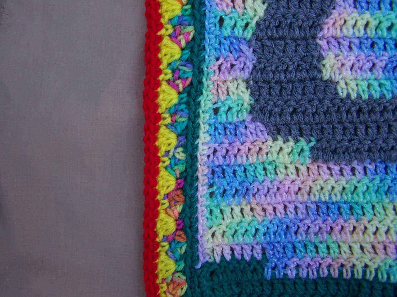 Elephant Crochet Pattern, Elephant Blanket Pattern, Elephant Baby ...