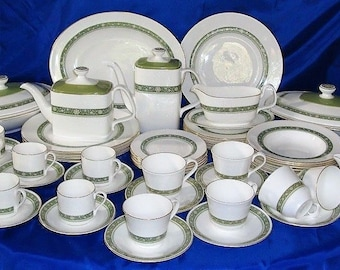a8cc0fc1928e0 Royal Doulton RONDELAY Dinner Tea And Coffee Set Unrivalled Quality