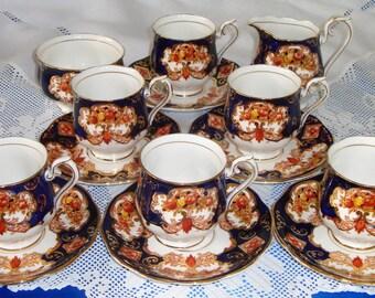 Royal Albert HEIRLOOM COFFEE SET With Coffee Pot