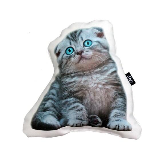 TABBY CAT PILLOW PILLOWS CAT LOVERS PILLOW SHAPED CAT PILLOW