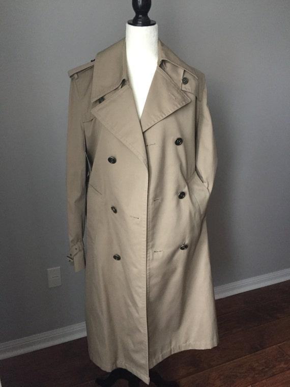 SALE - Men's PIERRE CARDIN Trench Coat