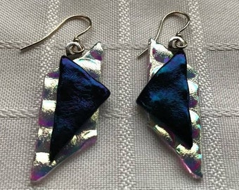 Iridescent Angles Earrings