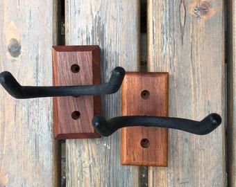 Hardwood Handmade Guitar Wall Hanger
