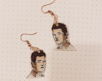 Scooby Castiel Inspired Earrings
