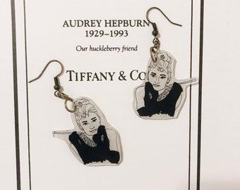 Audrey Hepburn Breakfast At Tiffany's Earrings