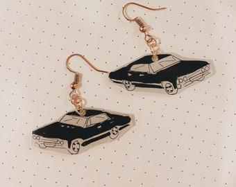 Supernatural Chevy Impala Earrings