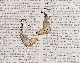 Salvador Dalí Inspired Clock Earrings