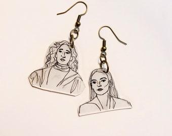 Villanelle and Eve Earrings