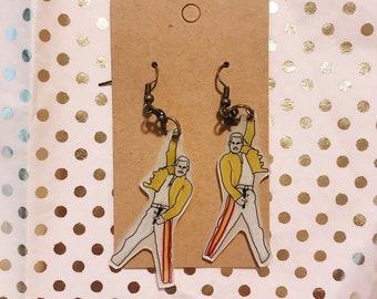 Freddie Mercury Earrings