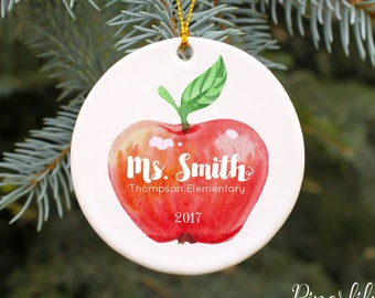 Teacher ornament   Etsy