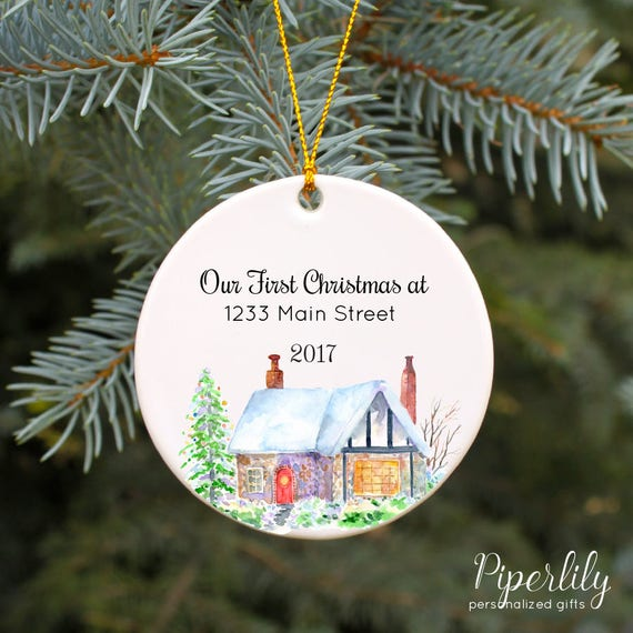 Our First Home Christmas Ornament.Our First Home Ornament First Christmas Ornament New House Ornament Housewarming Gift Our 1st Home Christmas Ornament New Home Homeowner