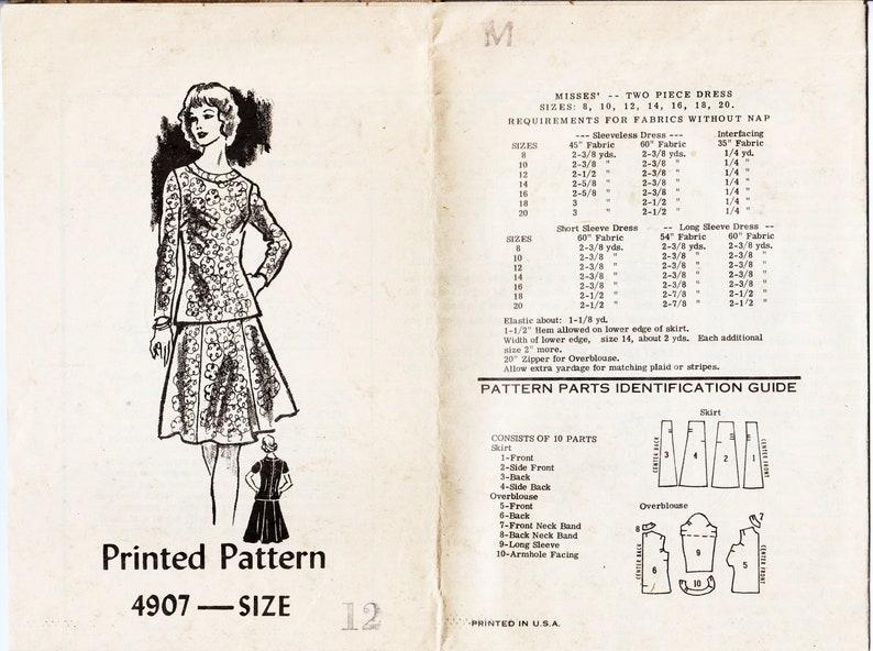 Pattern Gore Two Flared Dress Desetsy 6 3a4lq5rj Pattern Parte Skirt rxeCdBo