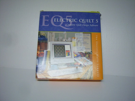 E Q 5 Electric Quilt 5 Complete Design Software And Books Etsy