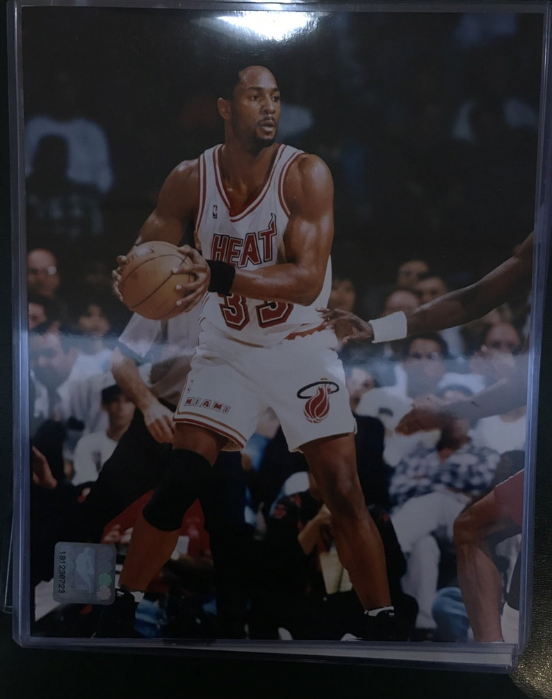 Alonzo Mourings Miami Heat 8x10