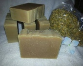CHAMOMILE MARSHMALLOW Nettles Shampoo Bar Peppermint Lemon 6 oz