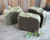 PERSLAINE Aloe Wildmint and Yogurt Handmade Soap unscented 6.9 - omega rich