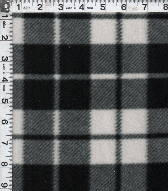 Black And White Plaid Blanket.Black And White Plaid Blanket Buffalo Plaid Blanket Fleece Tie Blanket Mother S Day Rustic Baby Shower Rustic Decor Rustic Bed