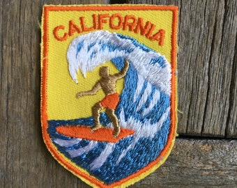 ONLY ONE! California Vintage Surfer Patch by Voyager - New in Original Package