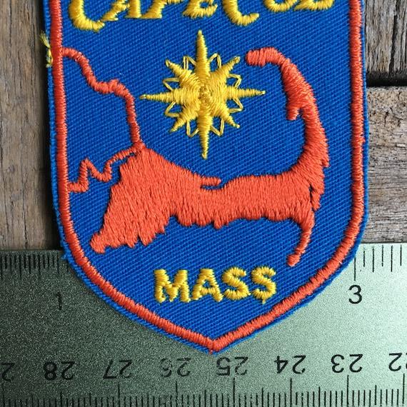 Cape Cod Massachusetts Souvenir Patch
