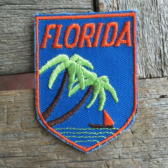 Naples Florida Vintage Souvenir Travel Patch from Voyager