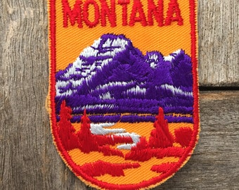 Montana Vintage Souvenir Travel Patch from Voyager - New In Original Package