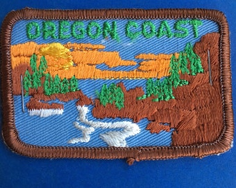 LAST ONE! Oregon Coast Vintage Souvenir Travel Patch from Andre Patches