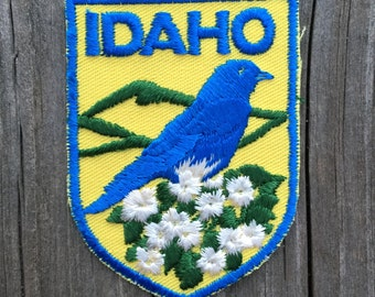 Idaho Vintage Souvenir Travel Patch from Voyager - New In Original Package