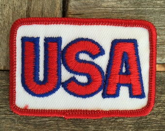 USA Vintage Travel Souvenir Patch from Voyager - New in Original Package